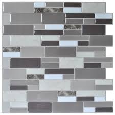Peel And Stick Tile Designs 12x12 Peel And Stick Tile Brick Kitchen Backsplash Wall