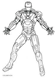 Coloring Pages Iron Man 3 Iron Man Color Page Iron Man Coloring Page