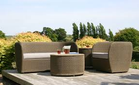 contemporary wicker ohana outdoor furniture design ideas looks good for modern patio decoration