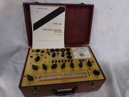 Hickok 6000a Mutual Conductance Tube Tester Calibrated