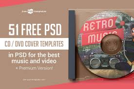 Dvd Face Template 51 Free Psd Cd Dvd Cover Templates In Psd For The Best