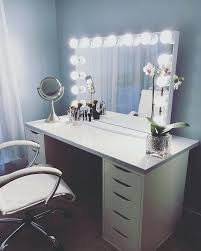 white makeup vanity best ideas on desk with regard table set w bench white makeup vanity