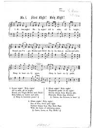 Silent Night, Holy Night - Notes