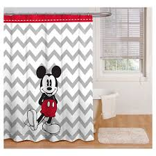 chevron shower curtain target. Disney® Mickey Mouse Chevron Shower Curtain - Gray/White Target I