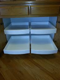 Kitchen Cabinet Rolling Shelves Kitchen Cabinet Roll Out Shelves Wichita Handyman