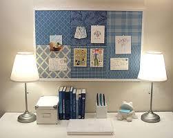 bulletin board designs for office. twosmalllampsonbothendsofdesk bulletin board designs for office