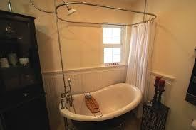 HLBTPD59SHPK 59Free Standing Tub With Shower