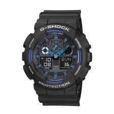 casio g shock model ga100 1a2 mens watches prouds the jewellers casio g shock model ga100 1a2
