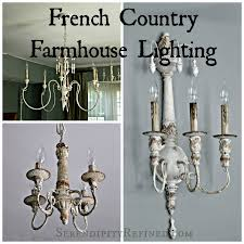 french country style lighting. French Country Farmhouse Style Chandeliers And Sconces With Resources Www.serendipityrefined.com Lighting H