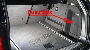 Fuse Box Diagram Bmw X3 F25 2011 2017