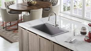 you know granite countertops are a smart investment as a top selection for their strength and beauty but what about granite sinks