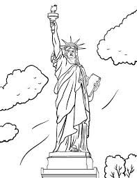 Small Picture Free statue of liberty coloring pages for kids ColoringStar