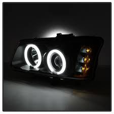 03-06 Chevy Silverado / Avalanche LED Halo Projector Headlights + ...