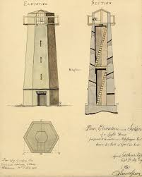 Plan  Elevation and Section of a Light House Proposed to be    Plan  Elevation and Section of a Light House Proposed to be Erected on Mississauga Point