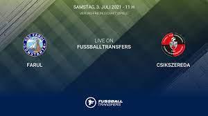 Ergebnis Farul - Csikszereda (1-1) Club Friendlies 3  Vereins-Freundschaftsspiele 2021 3/7