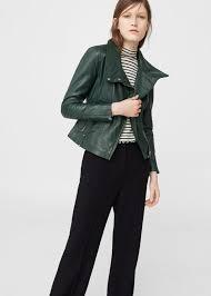 mango leather biker jacket 229 199 99 available at mango