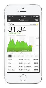 yahoo finance app. Contemporary Yahoo Yahoo Unveiled A New Personalized Version Of Its Finance App For IOS  Devices To App F