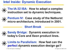 Intel Pentium       GHz             CPU Chips   ECE     Fall     Lecture      Verif  Case Study  Pentium
