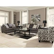 signature design by ashley furniture levon accent chair in charcoal