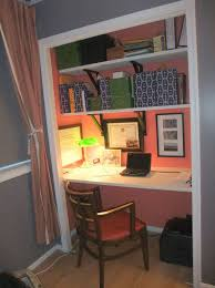 uncategorized converting a closet into an office the best closet turned into office space home design
