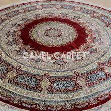 s1055a hand knotted 8 ft round area rugs