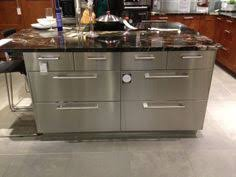 Prep In Style With A Spacious Ikea Kitchen Island With Stainless