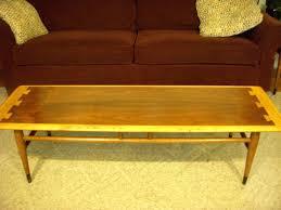 mid century coffee tables vintage lane acclaim coffee table mid century modern dovetail atomic mid century