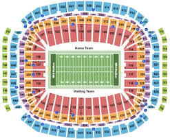 Reliant Stadium Tickets And Reliant Stadium Seating Charts