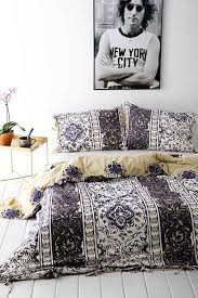 urban outers magical thinking thinking boho stripe duvet cover urban outers