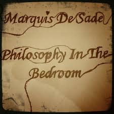 Poster Stage Philosophy In The Bedroom By Marquis De Sade
