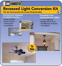 the can converter recessed light conversion kit
