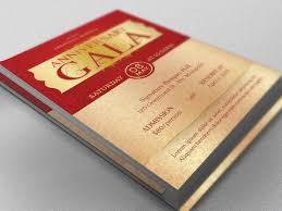 Anniversary Gala Flyer Template On Behance
