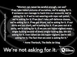 Rape Quotes Interesting SheQuotes Anne Theriault On Rape Culture SheQuotes Quote Rape