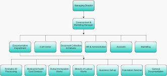 Document Organization Chart Organizational Structure Id Card Dubai Llc