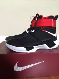 lebron shoes soldier 10 red and black. nike lebron soldier x 10 performance review shoes red and black