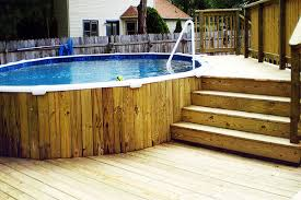 above ground round pool with deck. Contemporary Ground Above Ground Round Pool With Deck 10 More Awesome  Designs Inside S
