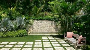 Small Picture Lovely Small Tropical Garden with Slate Paving Stepping Stones