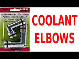 3800 car fix diy videos how to replace heater hose fittings and fix coolant bypass elbow leaks on gm 3800 v6