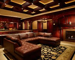 dark media room. Marvellous Irish Pub Decorating Ideas With Vintage And Classic Touch : Traditional Media Room Century Dark