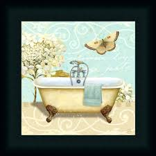 wall arts framed wall art bed bath and beyond artwork bathroom painting bath waters white