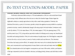 crafting the research paper session  in text citation model paper
