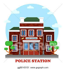 police station building clipart. Beautiful Police Outdoor Exterior View On Police Station Building On Police Station Building Clipart