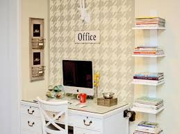 Organizing ideas for home office Filing Cabinet Stylish Home Office With Open Shelving Hgtvcom Home Office Organization Quick Tips Hgtv