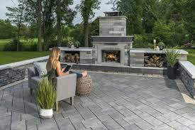 how to take care of your backyard outdoor fireplace in milton ma towne tree landscaping