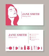 full size of artist business card template makeup free vector art 38842 s professional