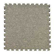 Plush carpet tiles Family Room Royal Light Gray Carpet Velour Plush 10 Ft 10 Ft 58 In Interlocking Carpet Tile 96875 Sq Ft 25 Piece Kit The Home Depot Greatmats Royal Light Gray Carpet Velour Plush 10 Ft 10 Ft 58