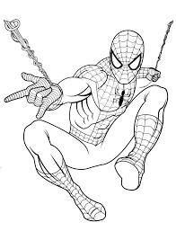 Coloriage Spiderman Gratuit Colorier Dessin Imprimer Dessin Coloriage Magique Spiderman L