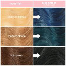 Blue Smoke Royal Blue Vegan Semi Permanent Hair Dye Lime