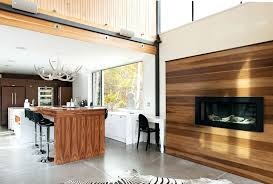 accent wall paint ideas fireplace dark kitchen contemporary with wood black