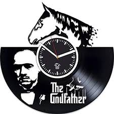 The Godfather Vinyl Wall Clock, Valentines Day Gift ... - Amazon.com
